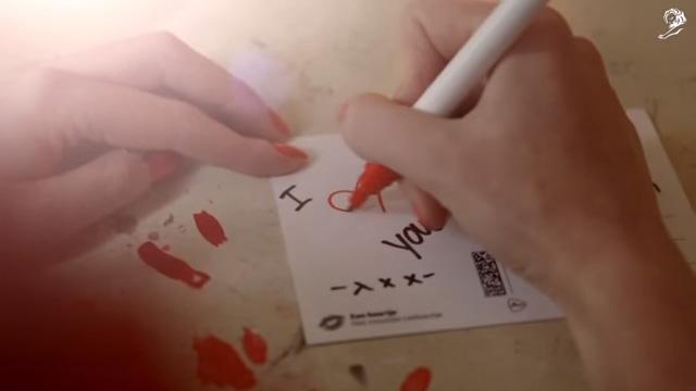 ぬくもりが感じられるバレンタインキャンペーン