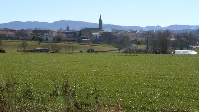 フランスの田舎町、ブリウド