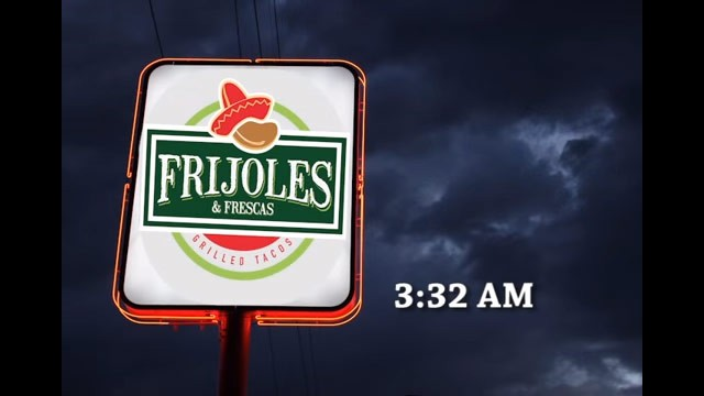 メキシコ料理店の看板