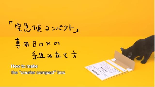 ヤマト運輸「小さい宅急便」の動画広告が「神業的」