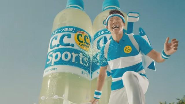 CCスポーツのイメージキャラは松岡修造氏