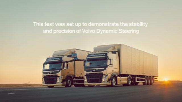 安定性抜群のボルボ・トラック