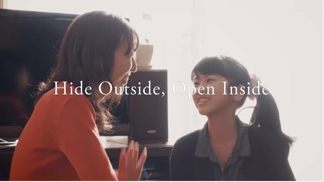 Hide Outside, Open Inside