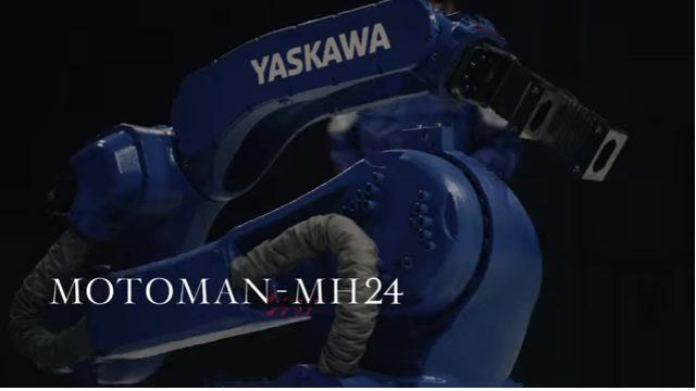 安川電機の産業ロボットMOTOMAN-MH241