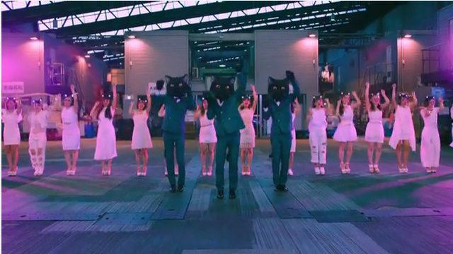 ヤマト運輸の踊るクロネコ